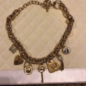 Michael Kors necklace and bracelet